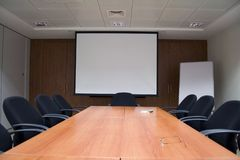 Business. Meeting and  Conference Room in the bulding Stock Photo