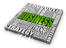 Business. Group of business related words. Part of a series of business concepts Stock Photography