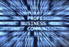 Business!. Business word shown in a business words mix background Stock Images