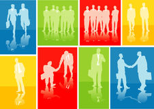 Business. Vector illustration of business people Royalty Free Stock Photo
