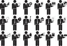 Business illustration stock
