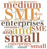 Business abbreviation. Word cloud illustration. Stock Photo
