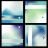 Business Absrtact Background. Delicate Abstract Corporate background with gradient mesh Stock Images