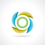 Business Abstract Circle icon. Royalty Free Stock Images