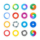 Business Abstract Circle logo icon. Stock Image