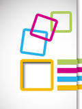 Business abstract frame Royalty Free Stock Photo