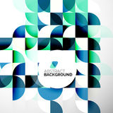 Business Abstract Geometric Template Royalty Free Stock Photography