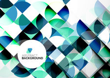 Business Abstract Geometric Template Stock Photo
