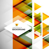 Business Abstract Geometric Template Stock Photos