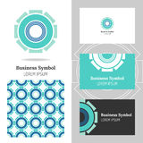 Business abstract logo, icon for your company. Graphic design editable Stock Image
