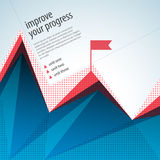 Business abstract template with text fields Stock Photos