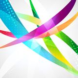 Business abstract wave corporate background. Stock Image