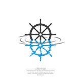 Business Abstract wheel ship  icon. Stock Photos
