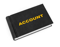 Business Account Book Royalty Free Stock Images