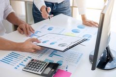 Business accountant or banker, business partner calculate and an. Alysis with stock financial indices and financial costs wisely and carefully, investment and stock photos