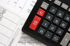 Business and accounting . Royalty Free Stock Photography