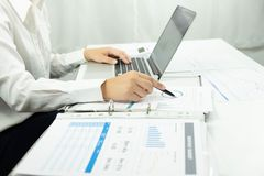 Business accounting.accounting and auditing teaching.consulting work. stock image