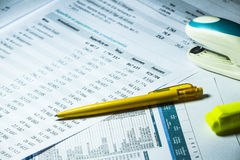 Business accounting background. Sweet business accounting background, enhance your work Royalty Free Stock Photos