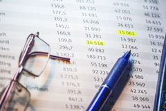 Business accounting background. Sweet business accounting background, enhance your work Stock Images