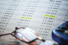 Business accounting background. Sweet business accounting background, enhance your work Stock Photography