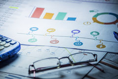 Business accounting background. Sweet business accounting background, enhance your work Stock Image