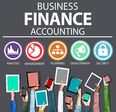 Business Accounting Financial Analysis Management Concept Stock Photography