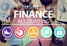 Business Accounting Financial Analysis Management Concept Royalty Free Stock Photography