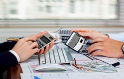 Business accounting Stock Photo