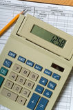 Business Accounting Items Stock Image