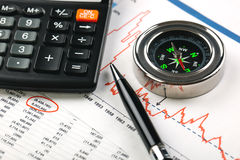 Business accounting Royalty Free Stock Images