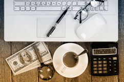 Business accounting Stock Photography
