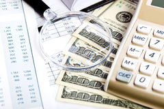 Business accounting Royalty Free Stock Photography
