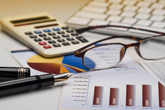 Business accounting Royalty Free Stock Photos
