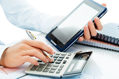 Business accounting Stock Images