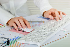 Business accounting Royalty Free Stock Photo