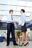 Business acquaintance Stock Images