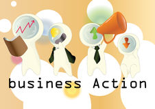 Business action Royalty Free Stock Photos