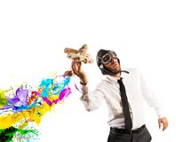 Business in action Royalty Free Stock Image
