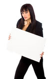 Business add girl Stock Images