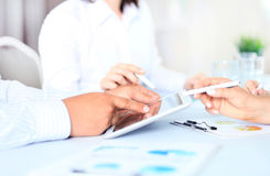 Business adviser Royalty Free Stock Photography