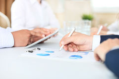 Business adviser Royalty Free Stock Images