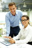 Business agency Stock Image