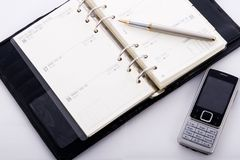 Business Agenda Stock Photography