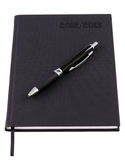 Business agenda set for 2013 with pen Royalty Free Stock Images