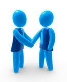 Business agreement stock illustration
