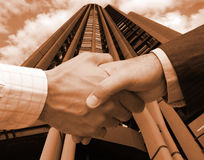 Business agreement in the US Stock Photography