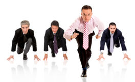 Business ahead of competition Royalty Free Stock Photo