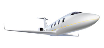 Business aircraft Stock Image