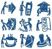 Business&people stock de ilustración