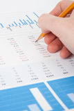 Business analysis royalty free stock images